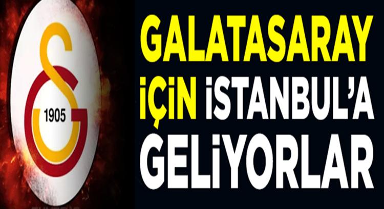 Galatasaray Henry Onyekuru ve Halil Dervişoğlu'nu İstanbul'a getiriyor