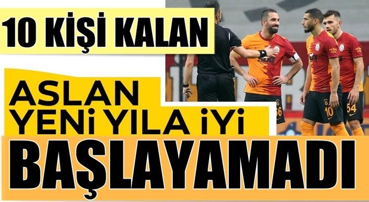 Galatasaray Süper lig'de kendi evinde Antalyaspor'a puan kaptırdı