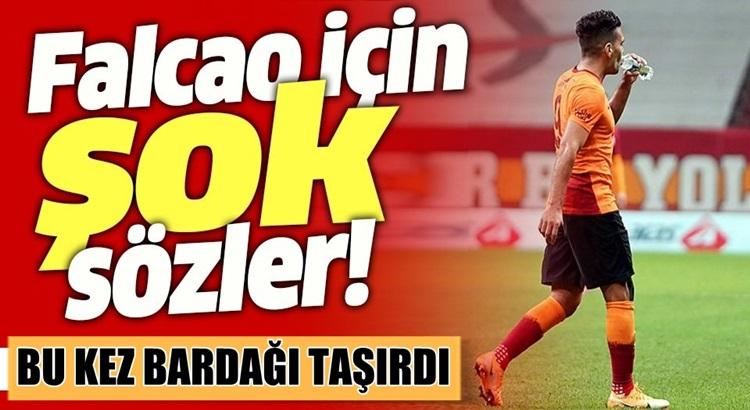 Galatasaray'da Falcao sabırları taşırdı! Spor yorumcuları ne dedi