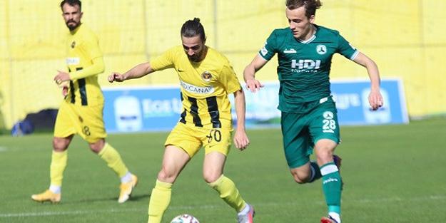 Giresunspor, 1. Lig'deki liderliğini sürdürdü