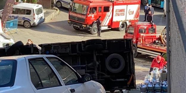 İstanbul Kağıthane'de faciaya ramak kaldı