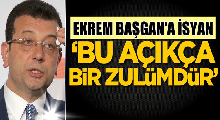 İstanbul'da Ekrem İmamoğlu'na taksicilerden isyan! 'Bu bir zulümdür'