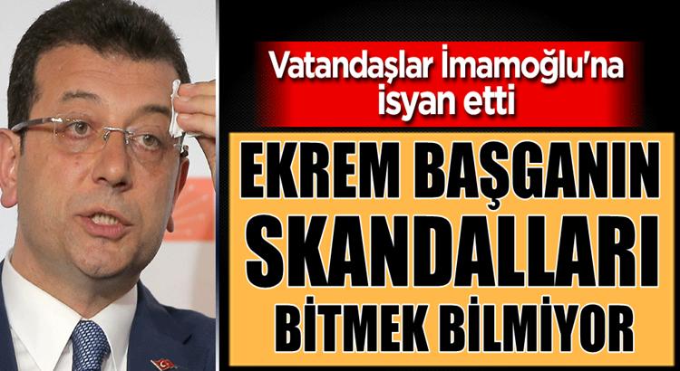 İstanbul'da Vatandaşlar İBB Başkanı Ekrem İmamoğlu'na isyan etti