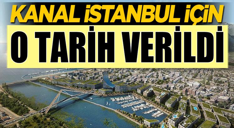 Kanal İstanbul için Bakan Murat Kurum tarih verdi