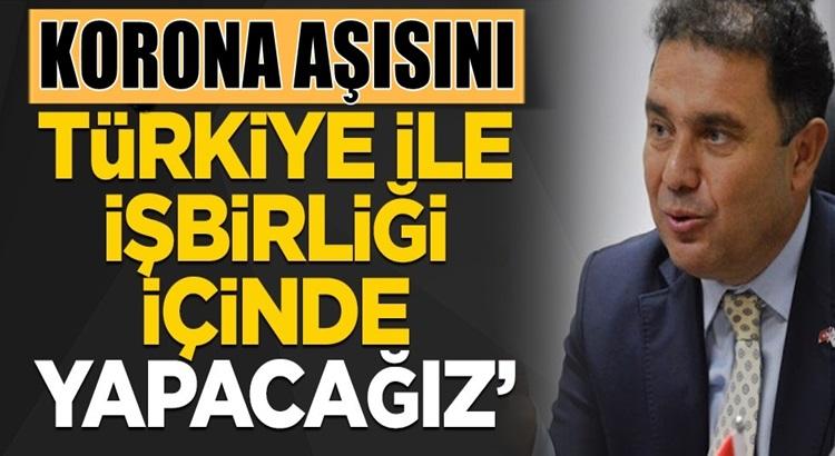 """KKTC Başbakanı Ersan Saner """"Aşılamayı Türkiye ile işbirliği içinde yapacağız"""""""