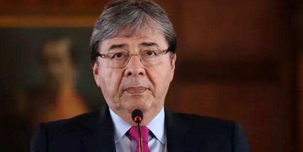 Kolombiya yasta Savunma Bakanı koronavirüs nedeniyle öldü