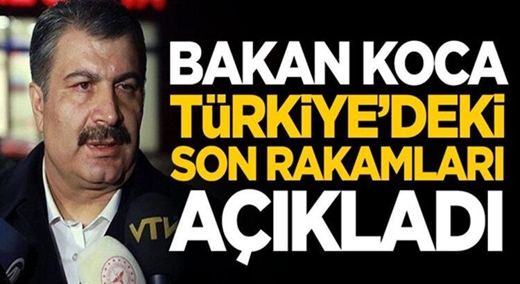 Koronavirüs 30 ocak Türkiye tablosunu Bakan Fahrettin Koca duyurdu