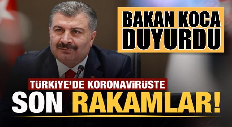 Koronavirüs 8 ocak Türkiye Tablosunu Sağlık Bakanı Fahrettin Koca açıkladı