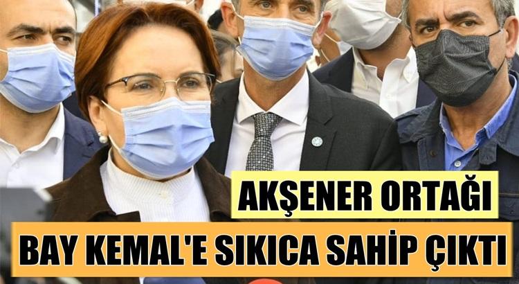 Meral Akşener de o tartışmaya katıldı Kemal Kılıçdaroğlu'na destek verdi