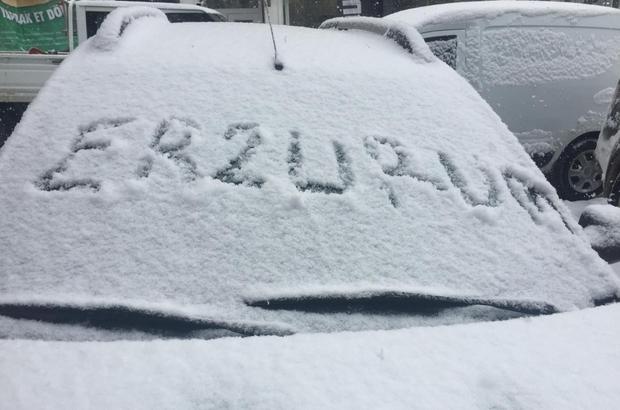 Meteorolojiden Erzincan ve Erzurum  için kuvvetli kar yağışı uyarısı