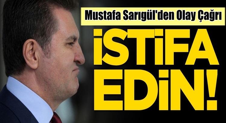 Mustafa Sarıgül'den CHP'den ayrılan vekillere istifa edin çağrısı
