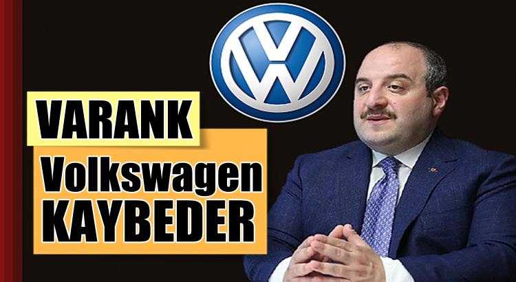 Mustafa Varank'tan Volkswagen'in kararına cevap geldi
