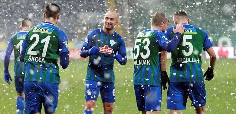 Rizespor Gaziantep FK'yı kendi sahasında farklı mağlup etti