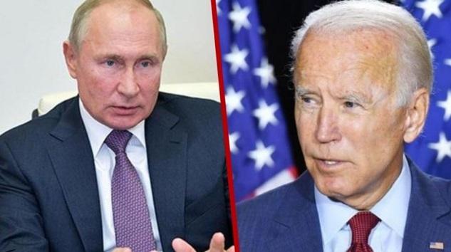Rusya Lideri Putin'den Amerika Başkanı Joe Biden'a telefon