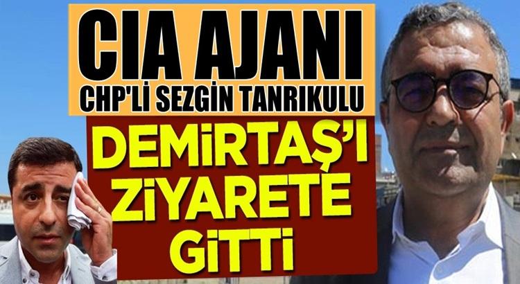 Sezgin Tanrıkulu, HDP'li Selahattin Demirtaş'ı cezaevinde ziyaret etti