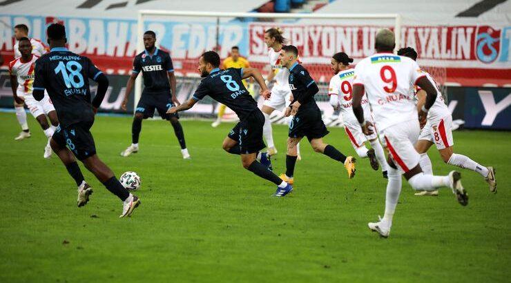 Trabzonspor kendi sahasında Göztepe'yi tek golle geçti
