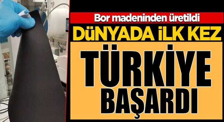 Türkiye Bor madeninde radyasyon koruma kalkanı üretmeyi başardı