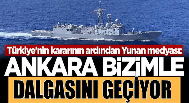 Türkiye Doğu Akdeniz'de NAVTEX yayımladı Yunanistan Karıştı