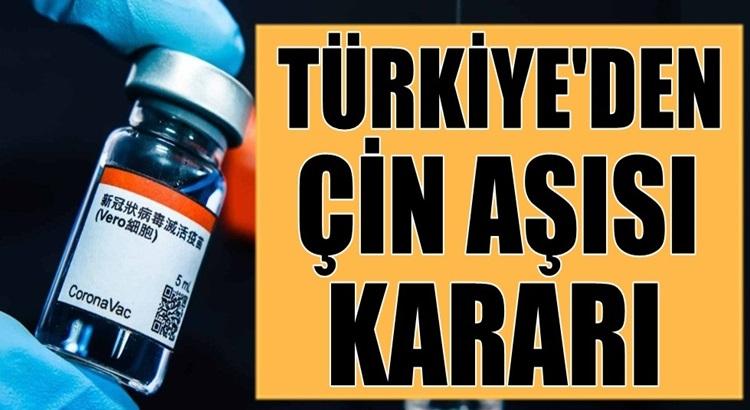 """Türkiye İlaç ve Tıbbi Cihaz Kurumu CoronaVac aşısına """"Acil kullanım onayı"""""""