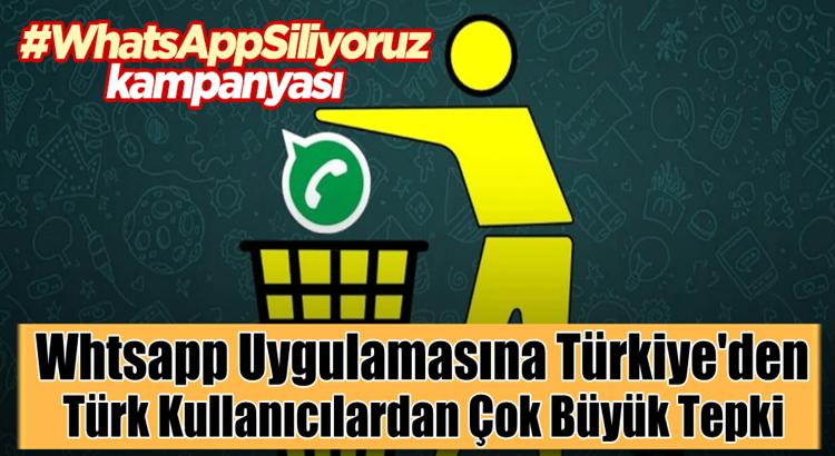 Türkiye'de Whatsapp'a tepki çığ gibi alternatif yerli uygulama
