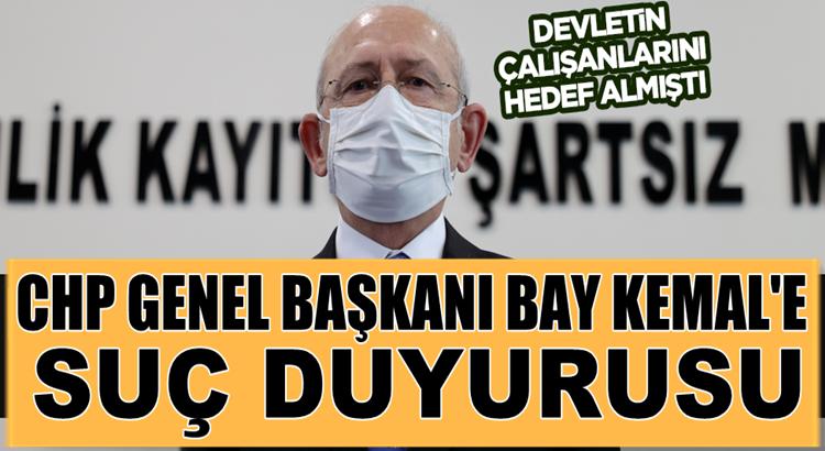 Vali ve kaymakamlara 'militan' diyen Kılıçdaroğlu için suç duyurusu
