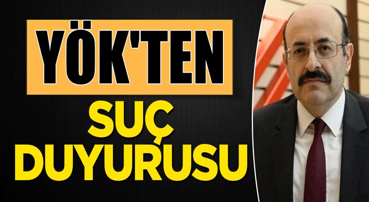 Yök Başkanı Yekta Saraç'tan para karşılığı tez hazırlayanlara suç duyurusu