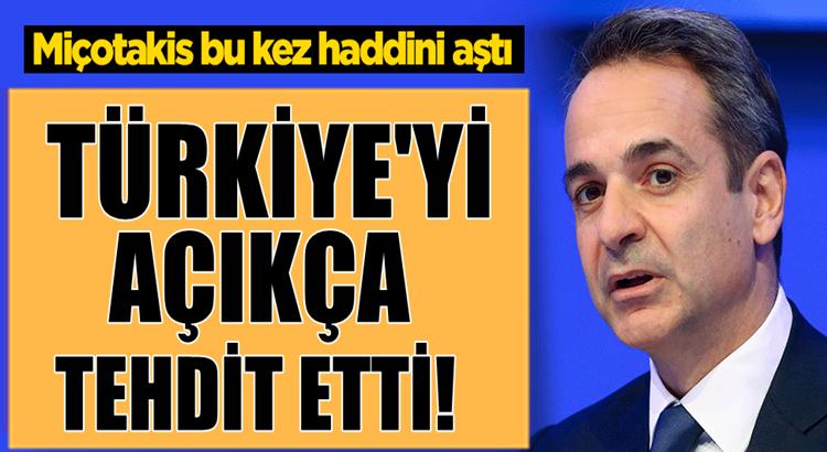 Yunan Lider Miçotakis'ten Türkiye hakkında haddini aşan açıklama