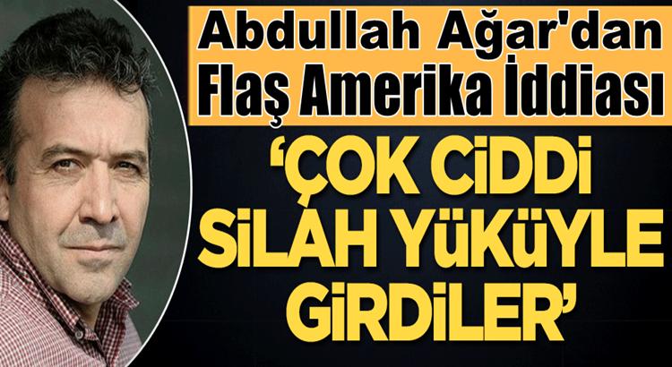 Abdullah Ağar, ABD Suriye'de PKK ve YPG İle üs kuracak