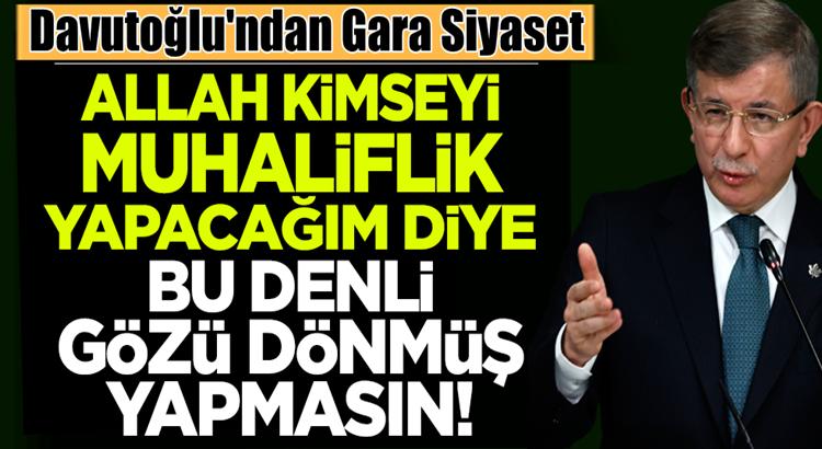 Ahmet Davutoğlu Gara operasyonu başarısızlıkla sonuçlandı dedi