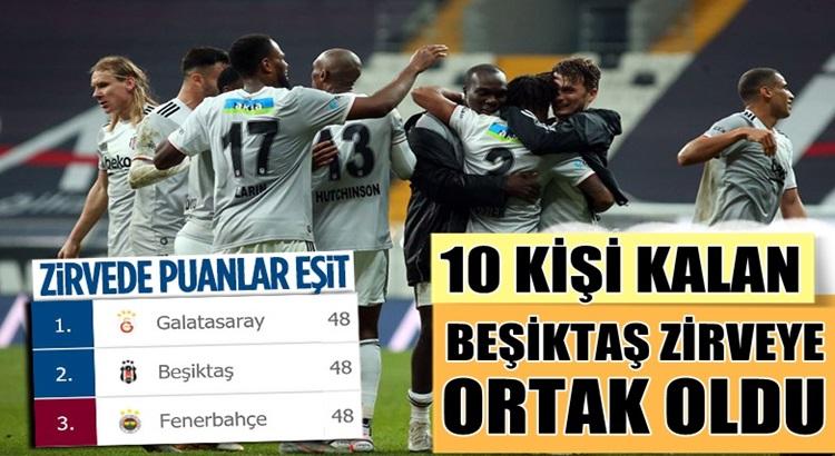 Beşiktaş Vodofone Arena'da Konyaspor'u tek golle mağlup etti