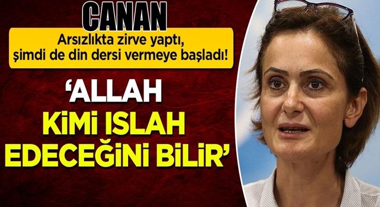 Canan Kaftancıoğlu, şimdi de din dersi vermeye başladı!