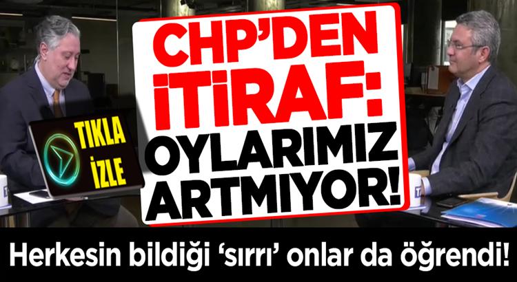 CHP'li Oğuz Kaan Salıcı'dan tarihi itiraf Oylarımız artmıyor!