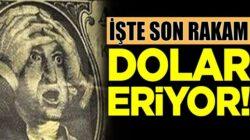 Dolar düşmeye devam ediyor! Peki dövizdeki son durum ne?