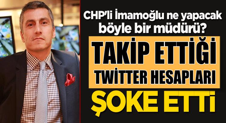 Ekrem İmamoğlu'nun yeni müdürü Twitter'da ilginç hesapları takip ediyor