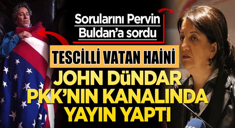 Fetö'cü Can Dündar, PKK'nın kanalında yayına başladı