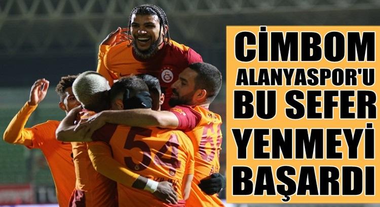 Galatasaray, Aytemiz Alanyaspor'u deplasmanda mağlup etti