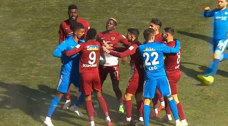 Hatayspor BB Erzurumspor deplasmanında rakibini mağlup etti