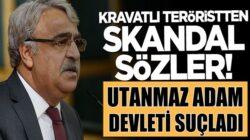 HDP'li Mithat Sancar'dan akıl dışı sözler! Devleti suçladı