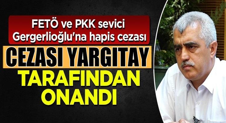 HDP'li Ömer Faruk Gergerlioğlu'nun cezasını Yargıtay onadı