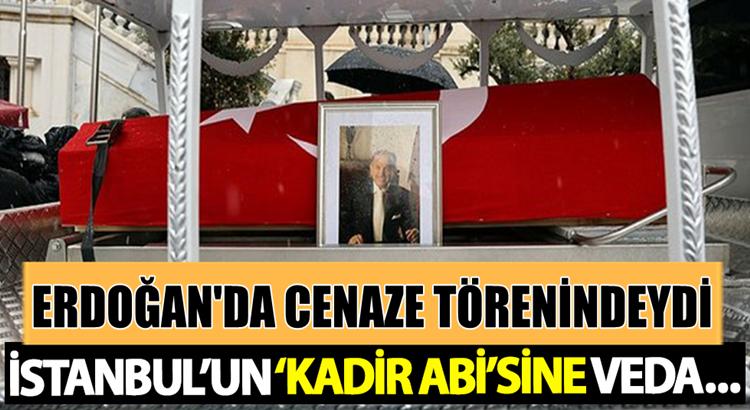 Kadir Topbaş son yolculuğuna İstanbul'dan uğurlandı