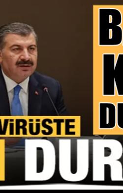Koronavirüs 16 şubat tablosunu Sağlık Bakanı Fahrettin Koca açıkladı
