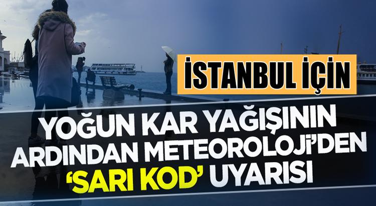 Meteoroloji'den İstanbul ve birçok ile kar sonrası zirai don uyarısı