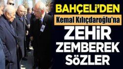 MHP lideri Devlet Bahçeli'den Kemal Kılıçdaroğlu'na zehir zemberek sözler