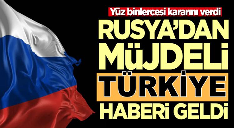 Rusya'lar koronavirüs sonrası en fazla Türkiye'ye gelmek istiyorlar