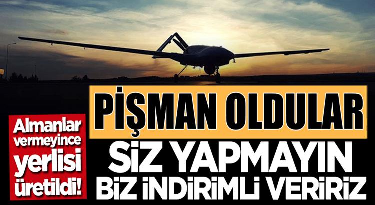 Türk SİHA'larına ambargo uygulayan Almanya'da pişmanlıklar