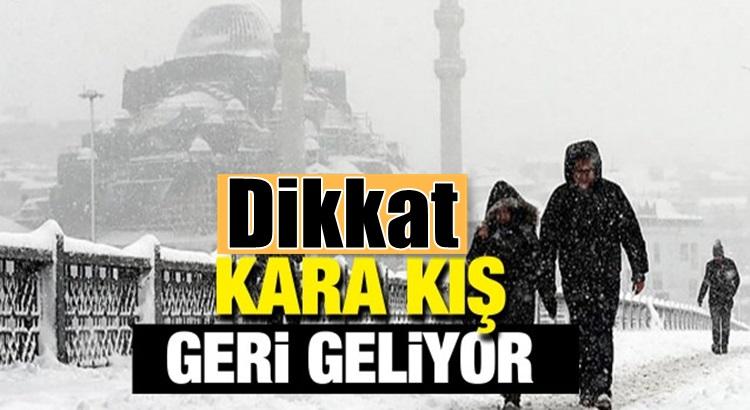 Türkiye geneli ve İstanbul'a soğuk hava mart ayında geri geliyor