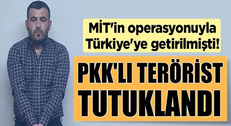 Türkiye'ye getirilen! PKK'lı terörist İbrahim Parım tutuklandı