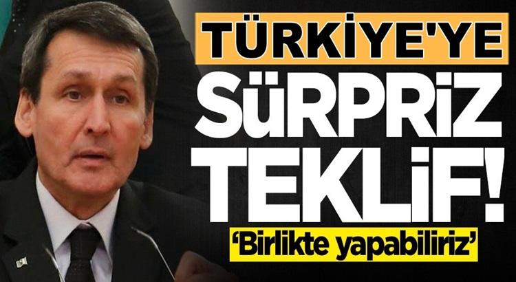Türkmenistan'dan Türkiye'ye sürpriz teklif geldi