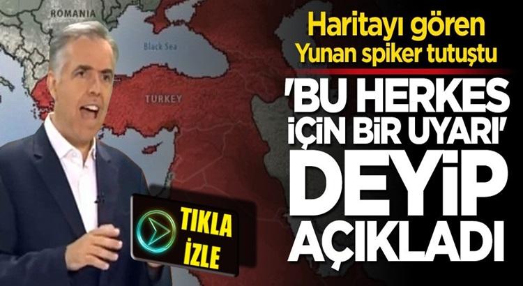 Yunan Spiker İoannis Theodoratos,Türk siyasetinden fena korktu