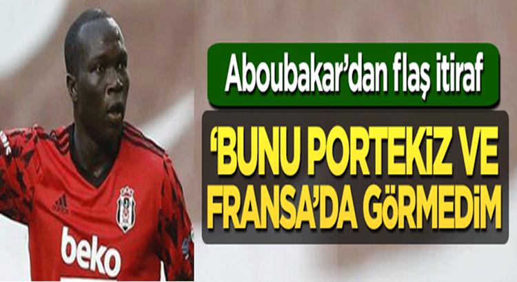 Beşiktaş'lı Vincent Aboubakar'dan Portekiz ve Fransa itirafı!